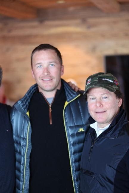 Bode Miller und Robert Siegel CEO Bomber Ski